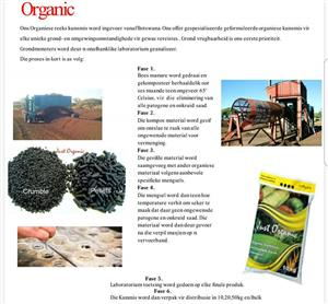 Organic Fertilizer/ Organiese Kunsmis
