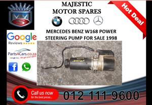 Mercedes benz W168 power steering pump for sale