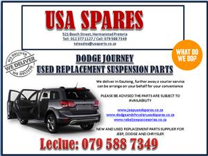 DODGE JOURNEY USED REPLACEMENT SUSPENSION PARTS. USA SPARES CALL NOW