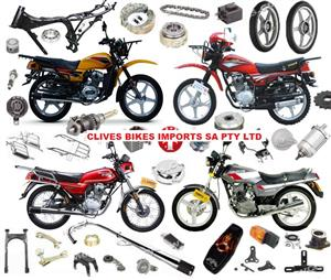 WHOLESALERS ON ALL CHINA BIKE PARTS DEAD CHEAP @CLIVES BIKES IMPORTS SA.PTY LTD