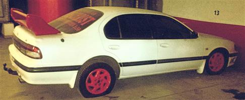 2000 Nissan Maxima QX 3.0 V6 automatic
