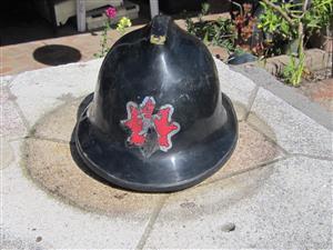 British fireman's helmet