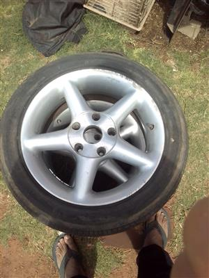 Set of tsw BMW pcd tyres for sale