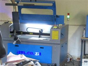 LC-1610/D160 TruCUT Standard Range 1600x1000mm Cabinet, Conveyor Table, Double Laser Head