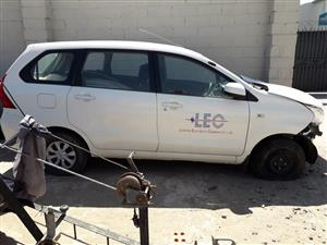 Toyota Avanza 1.5 SX - 2017 - Stripping for spares