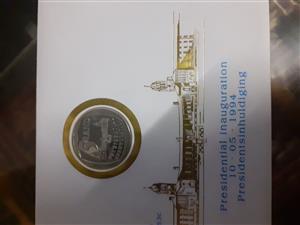 Used, R5 Presidential Inauguration coin for sale  Pretoria - Pretoria City