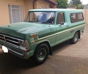 1970 F100 Station Wagon