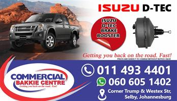 isuzu dtec brake booster