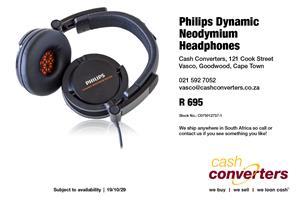 Philips Dynamic Neodymium Headphones
