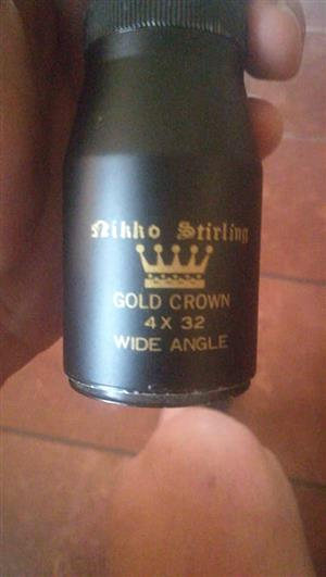 Nikko stirling gold crown