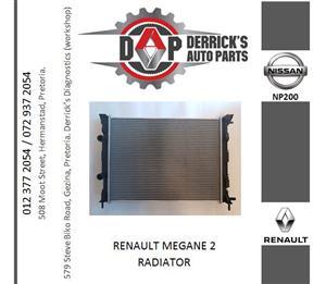 RENAULT MEGANE 2 RADIATOR FOR SALE