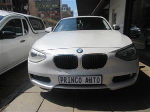 2013 BMW 1 Series 120d 5 door