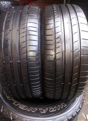 225/40R18 CONTINENTAL  TYRES FOR SALE