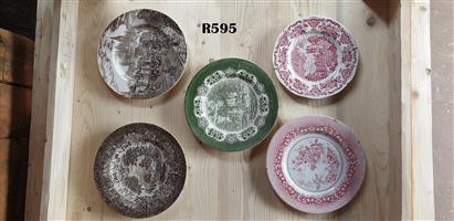 5 x Vintage Plates (Collectors Item)