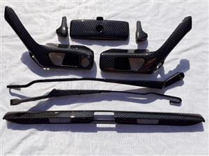 Golf VR6 Parts in carbon fibre