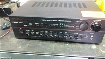 AMP + SPEAKERS +LIGHTS