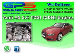 AUDI A5 2.0 TFSI (CDN) ENGINE FOR SALE