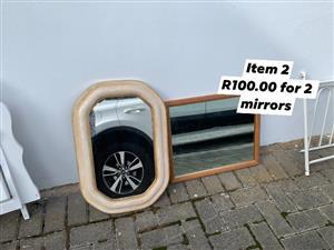 2x Mirrors.