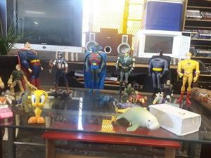Variety of action figures available