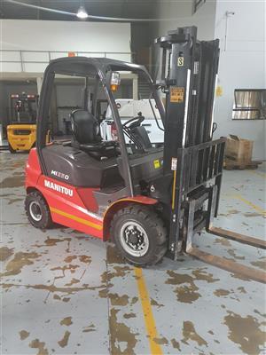 Demo Manitou Forklift