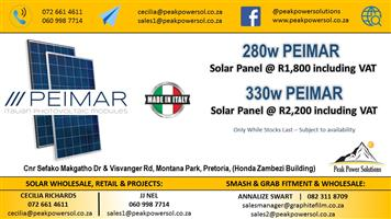 Solar Panels Made in Italy