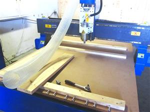 R-1325LC/50 EasyRoute 380V Lite 1300x2500mm Aluminium T-Slot Clamping CNC Router, 5kW