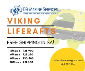 Life Rafts Viking