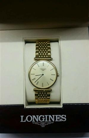 Longiness Gents Watch   Longiness La Grande classique  Comes with box and papers  In pristine condition  R8000 onco