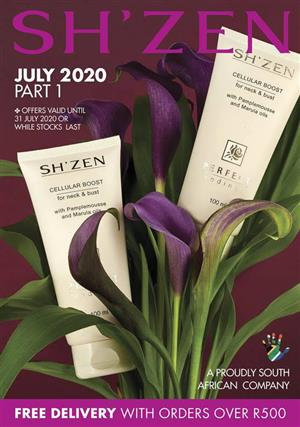 SHZEN JULY SPECIALS