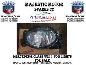 Mercedes benz W211 fog lights for sale