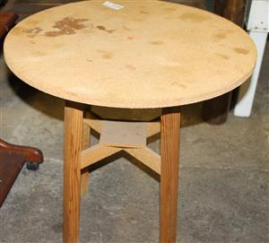 Oak round table S030434F #Rosettenvillepawnshop