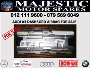 Audi A3 dashboard airbag for sale
