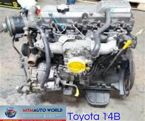 Complete Imported used TOYOTA 3.7L, 14B engine