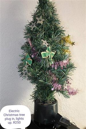 Electric christmas tree for sale