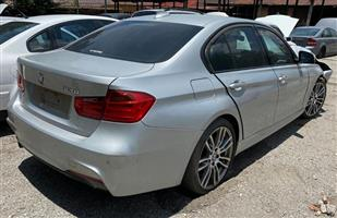 Bmw 320i F30 2013 #N20B20UD automatic Stripping for spares