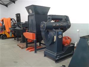 Industrial, 30kw CPM pellet plant