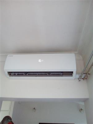 Residential and Commercial Airconditioner Installers, Regassing, Servicing and Relocation call 0833726342