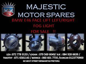 BMW E46 LEFT / RIGH SIDE FOG LIGHT FOR SALE