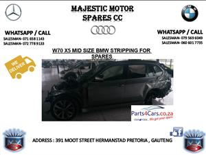 bmw x5 stripping for spares
