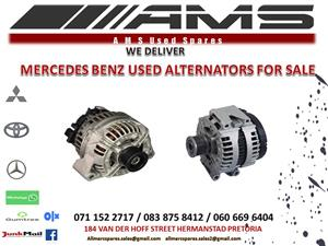 MERCEDES ALTERNATORS