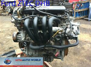 Imported used FORD ZETEC SE-SEFI 1.25L, Z TEC DHB, Complete second hand used engine