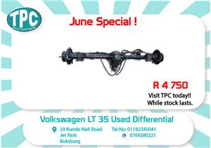 VW Crafter LT 35 Used Differential for Sale at TPC