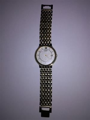 Citizen rolled gold watch