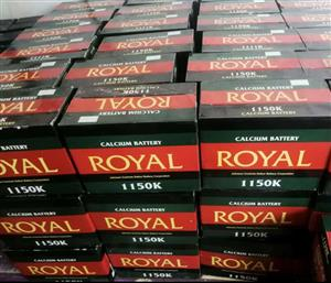 Royal (105ah) Deep Cycle Battery