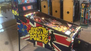 Austin Powers Pinball Machine for sale, available on order