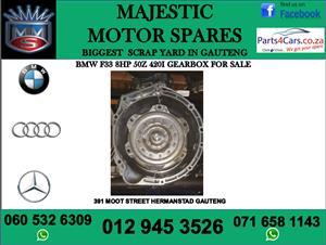 Bmw F33 8HP50Z gearbox for sale
