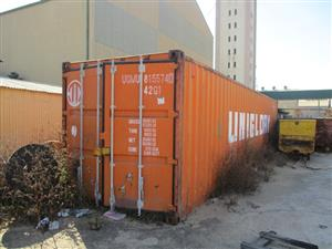 Uniglory 12 Meter Shipping Container - ON AUCTION