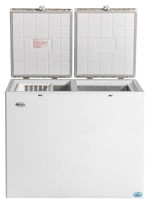 GAS ELECTRIC FRIDGE/FREEZER 260L