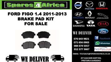 FORD FIGO 1.4 2011-2013 BRAKE PAD KIT