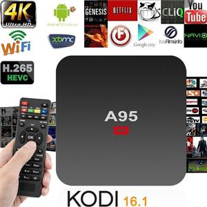 A95M 4K ANDROID TV BOX 2GB+8GB
